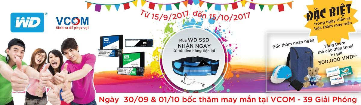 Chương trình khuyến mãi và kích hoạt WD SSD
