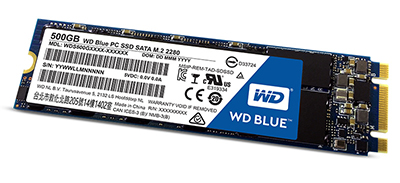 SSD WD Blue 500GB Sata3 M.2
