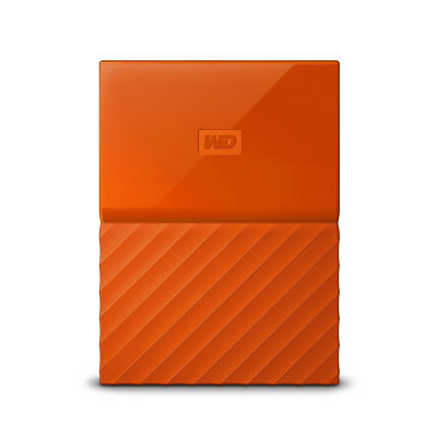 Ổ cứng di động wd my passport 1tb wdbynn0010bor orange