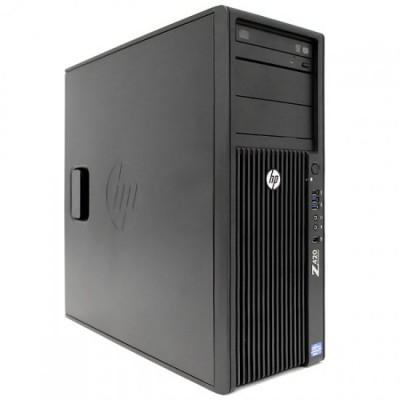 HP Z420 workstation Intel Xeon 4 core VGA 2GB GTX 1050