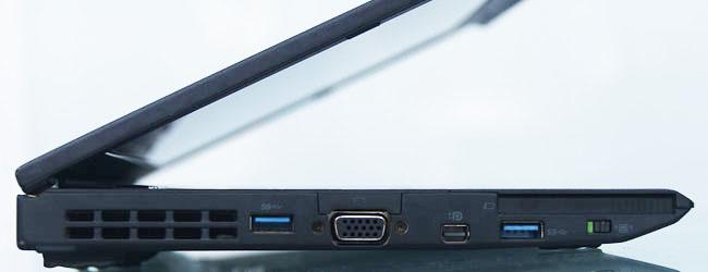 Cạnh trái laptop lenovo thinkpad x230