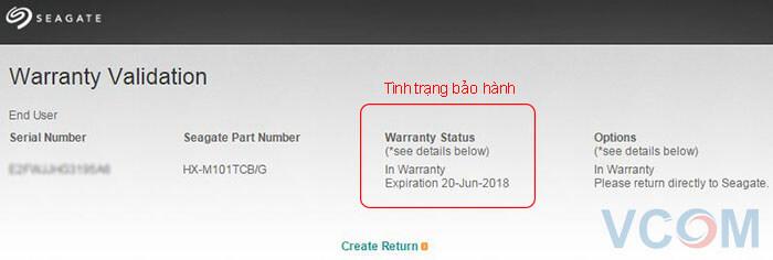 Hướng dẫn kiểm tra bảo hành ổ cứng Samsung