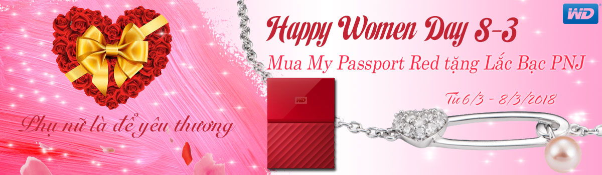 VCOM - Khuyến mãi HOT Happy Women's Day