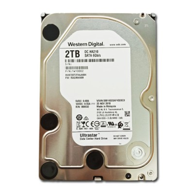 Ổ cứng Western Digital Ultrastar DC HA210 2TB cho server 3.5 inch