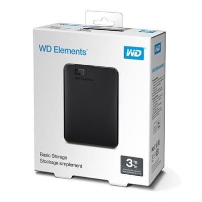 Ổ Cứng WD Elements 3TB 2.5 inch Portable