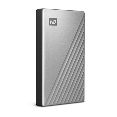 Ổ cứng WD My Passport Ultra 2TB USB-C silver new 2019