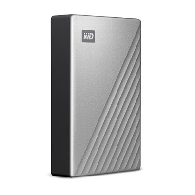Ổ cứng WD My Passport Ultra 4TB USB-C silver new 2019
