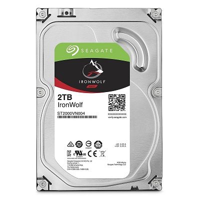 Ổ cứng HDD Seagate IronWolf 2TB 5900PRM 3.5 inch cho NAS