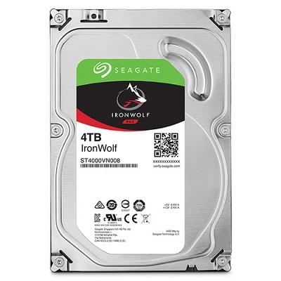 Ổ cứng HDD Seagate IronWolf 4TB 5900RPM 3.5 inch cho NAS