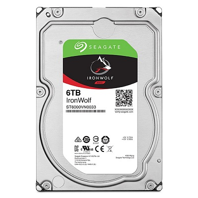 Ổ cứng HDD Seagate IronWolf 6TB 7200RPM 3.5 inch cho NAS