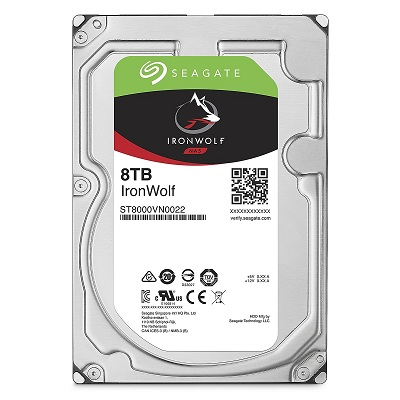 Ổ cứng HDD Seagate IronWolf 8TB 7200RPM 3.5 inch cho NAS