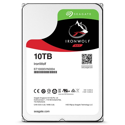 Ổ cứng HDD Seagate IronWolf 10TB 7200RPM 3.5 inch cho NAS