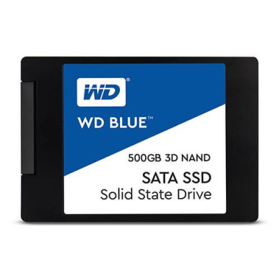 Ổ cứng SSD WD Blue 500GB 3D NAND Sata 2.5