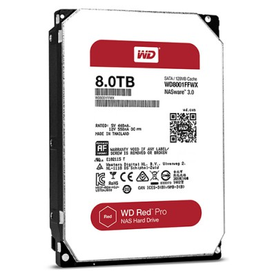 Ổ cứng WD Red Pro 8TB 7200rpm 3.5 inch