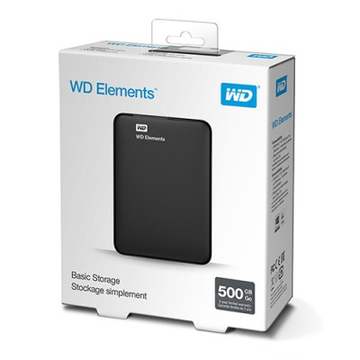 Ổ cứng WD Elements 500GB 2.5 inch WDBUZG5000ABK