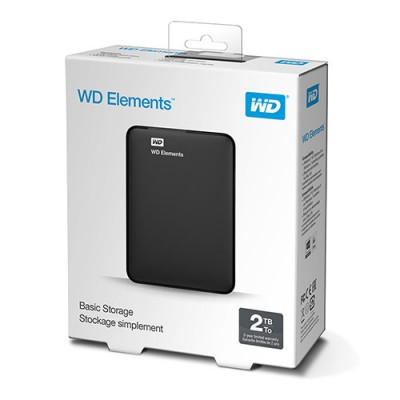 Ổ cứng WD Elements 2TB 2.5 inch Portable