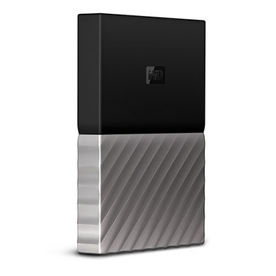 Ổ cứng WD My Passport Ultra 1TB - Black Gray