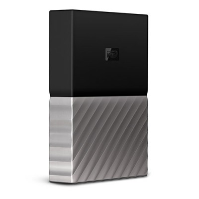 Ổ cứng WD My Passport Ultra 4TB - Black Gray