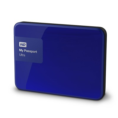 WD My Passport Ultra 3TB WDBBKD0030BBL - Xanh