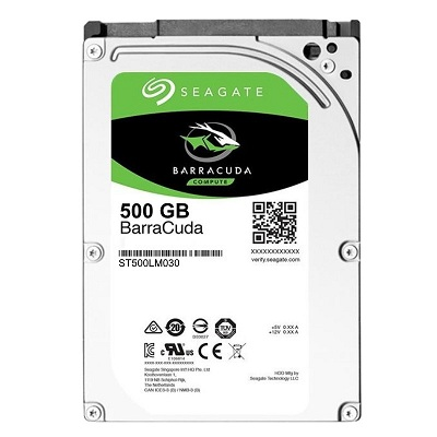 Ổ cứng HDD Seagate BarraCuda 500GB 5400RPM 2.5 inch