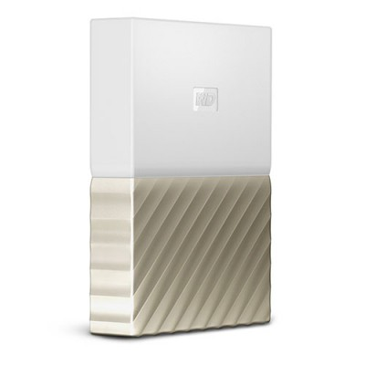 Ổ cứng WD My Passport Ultra 2TB - White Gold
