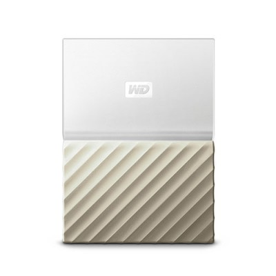 Ổ cứng WD My Passport Ultra 1TB - White Gold