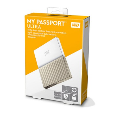 ổ cứng 1tb wd my passport ultra white gold