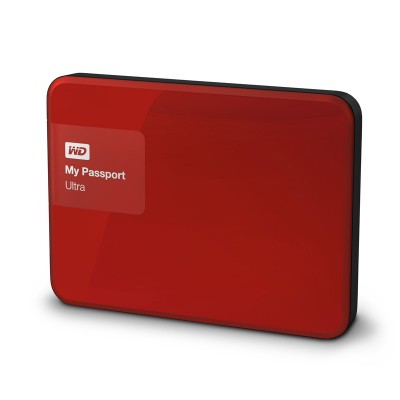 WD My Passport Ultra 2TB WDBBKD0020BRD - Đỏ