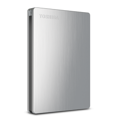 Toshiba Canvio Slim II 1Tb HDTD210AS3E1 - Bạc