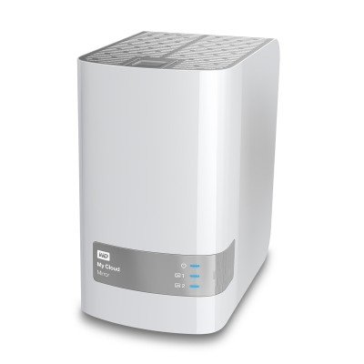 WD My Cloud Mirror 6TB WDBZVM0060JWT