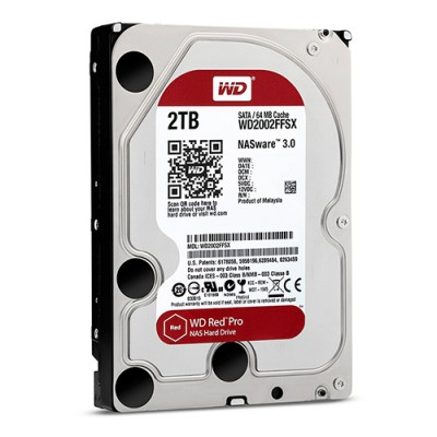 Ổ cứng WD Red Pro 2TB 7200rpm 3.5 inch