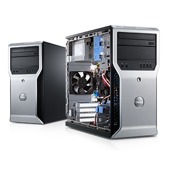 Dell Precision T1600 WorkStation Core i3 VGA rời Nvidia chuyên game