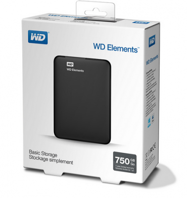 Ổ cứng WD Elements 750GB 2.5 inch WDBUZG7500ABK