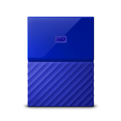 Ổ cứng di động WD My Passport 2TB blue new 2019