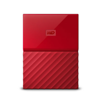 Ổ cứng di động WD My Passport 4TB red