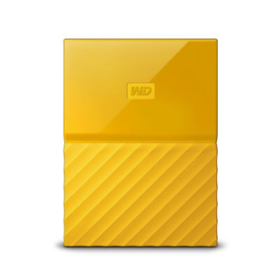 Ổ cứng di động WD My Passport 4TB yellow