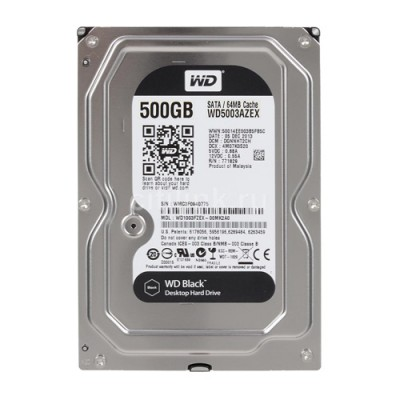 Ổ cứng WD Black 500GB 3.5 inch