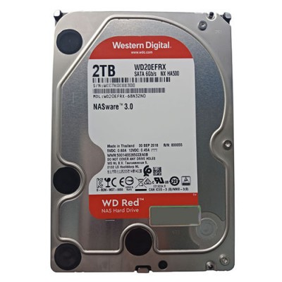 Ổ cứng WD Red 2TB 3.5 inch cho NAS - PC