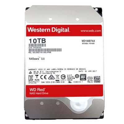 Ổ cứng WD Red 10TB 3.5 inch cho NAS - PC