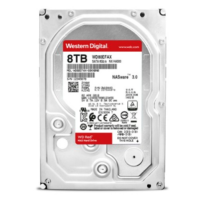 Ổ cứng WD Red 8TB 3.5 inch cho NAS - PC