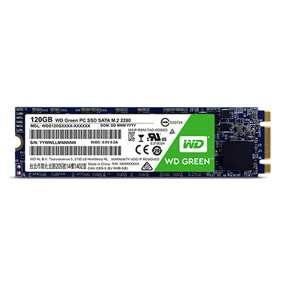 Ổ cứng SSD WD Green 120 WDS120G1G0B